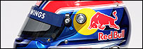 Casco de Mark Webber