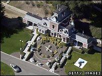Neverland ranch - 2003 file photo