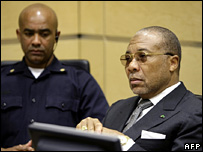 Charles Taylor at the Special Court for Sierra Leone (7 January 2008)
