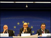 Cumbre de la Unión Europea en Bruselas.