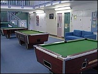 New wing at Ashfield young offenders institute