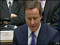 Cameron criticised 'dire' Budget