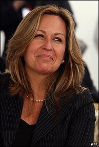 Trinidad Jiménez, secretaria de Estado de Gobierno Español para Iberoamérica.