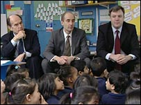 Sir Jim Rose, Andrew Adonis and Ed Balls