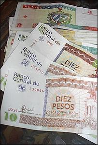 Moneda cubana, Foto, Raquel P�rez