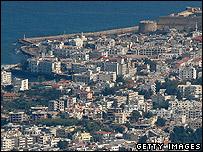 Kyrenia in northern Cyprus