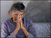 Ha Thi Quy, a survivor and witness of the 1968 My Lai massacre, pictured here in September 2007
