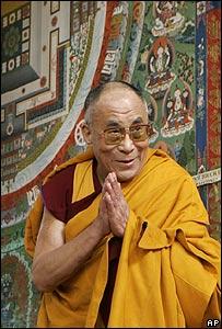 Dalai Lama, 16/03/08
