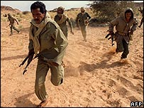 Polisario fighters (Archive pic - 1988)