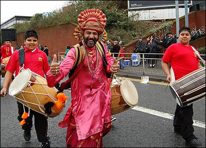 Dhol Blasters, St Patrick's Day parade
