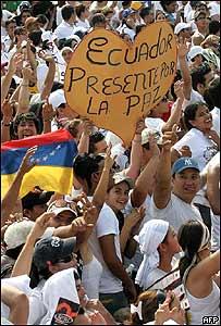 """P�blico en el concierto """"Paz sin Fronteras"""" (16/03/08)"""