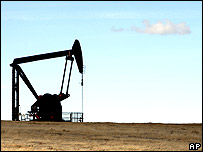 Wyoming oil well