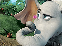 A scene from Dr Seuss' Horton Hears A Who!