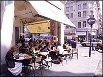 Cafe in Regent Street