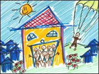 Ilustración en la página de Ian Usher.