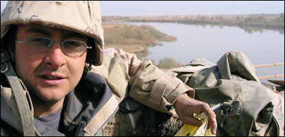 Oliver Poole in Iraq