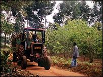 African farm (Image: BBC)