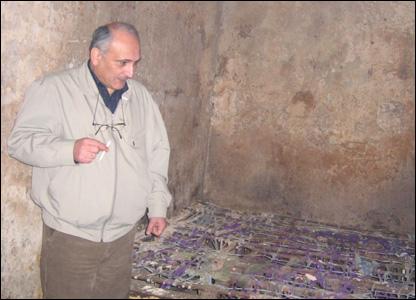 Ираклий Доквадзе в камере