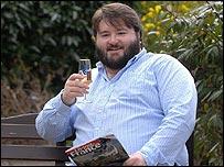 Lotto winner Peter Heal