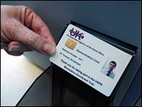 Dummy ID card