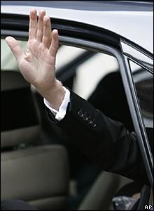Sir Paul McCartney's hand