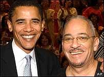 Obama y Jeremiah Wright