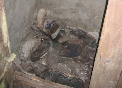 Обувь бывших заключенных