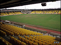 Almondvale Stadium, home of Livingston FC