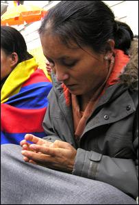 Namdrol Lhamo, Tibetan Buddhist nun