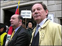 Norman Baker MP and Edward McMillan-Scott MEP