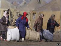 Чеченские беженцы