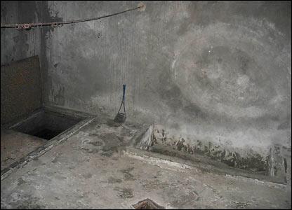 Камера, в которой казнили заключенных
