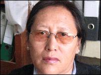 President of Tibetan Women's Association, B Tsering