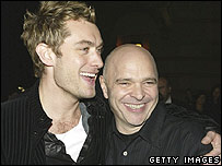 Jude Law and Anthony Minghella