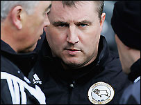 Paul Jewell and his coaching staff
