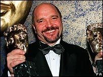 Anthony Minghella at the Baftas 1997