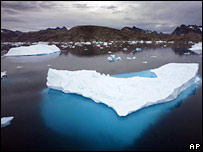 Ice floe. Image: AP
