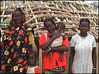 Arek Anyiel Deng and her family