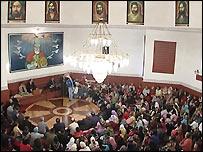 Alevi Cemevi, or prayer hall