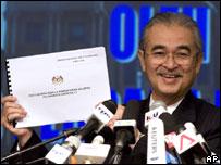 Malaysian PM Abdullah Badawi, 18 March 2008