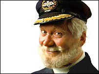 John Hewer as Captain Birds Eye