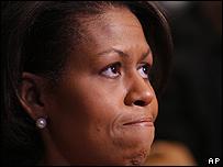 Michelle Obama, esposa de Barack.