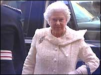 The Queen attended a reception at  Hillsborough Castle