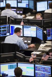 Trading room (Image: AP)