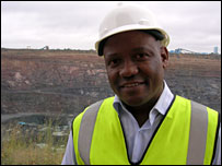 Balisi Bonyongo, general manager of Jwaneng mine