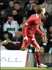 Darren Mackie was the goal-hero for Aberdeen