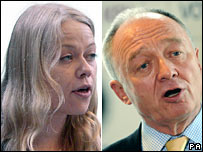 Sian Berry and Ken Livingstone