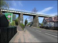 Railway viaduct in Crianlarich (Pic: Undiscovered Scotland)