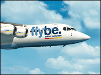 Flybe plane: Pic Flybe
