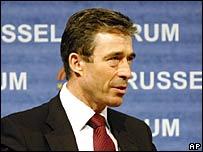 Denmark's Prime Minister Anders Fogh Rasmussen